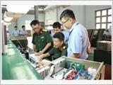 """Factory Z755 and the campaign """"promoting tradition, devoting talent, deserving to be Uncle Ho's soldiers"""""""