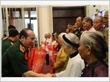Bộ Quốc phòng gặp mặt Đoàn đại biểu Người có công với cách mạng tỉnh Thái Bình, Trà Vinh