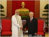 Vietnam - India strategic partnership in the fields of defence and security