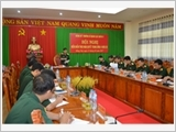 Infantry Officers' Training College No.2 steps up the Party building according to the Resolution of Party Central Committee's 4th Plenum (12th tenure)
