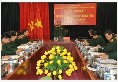 The Military improves the effectiveness of the mass mobilization work