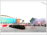 Ninh Binh province focuses on enhancing the quality of provincial defensive zone exercise