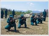 Thuan Nam District builds a strong coastal militia force