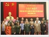 Tổng cục Chính trị gặp mặt Đoàn đại biểu Người có công tỉnh Quảng Trị