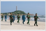 The Provincial Border Guard of Binh Thuan firmly manages and protects the sea border sovereignty and security