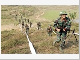 Issues about improving the quality of building the reserve force in the Military Region No.1's stationed areas