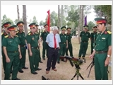 Armed forces of Tra Vinh province implement the Politburo's Directive No.5