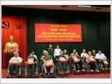 Bộ Quốc phòng gặp mặt Đoàn đại biểu thương binh, bệnh binh Trung tâm Điều dưỡng thương binh Thuận Thành