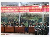 Armed forces of Dien Bien province conduct the national defence and security work