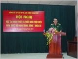 Hội nghị học tập, quán triệt, triển khai Nghị quyết Trung ương 7 (khóa XII)