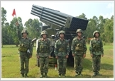 """""""Forging virtue and talents"""" to follow Ho Chi Minh's working style in the Rocket Artillery Brigade 204"""