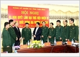 Thai Binh closely combines economy with defence and security
