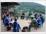 The Border Guard of Lai Chau province safeguards border sovereignty and security