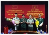 The Border Guard of Lao Cai province carries out diplomatic mission