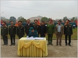 The armed forces of Yen Binh district play their key role in the implementation of national defence and military tasks