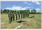 1st Army Corps Military School combines education – training with practical lessons in drilling and combat
