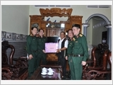 Continuing to well perform the task of military training march associated with the mass mobilization work