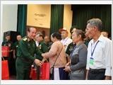 Bộ Quốc phòng gặp mặt Người có công với cách mạng tỉnh Bình Dương