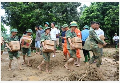 The whole Military continues to promote its core role in incident, disaster response and search and rescue
