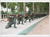 The Infantry Regiment 1 improves the quality of combat training