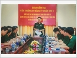 Military Region 4's Party Organization steps up inspection, supervision and Party discipline