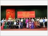 Tổng cục Chính trị gặp mặt Đoàn đại biểu Người có công tỉnh Khánh Hòa