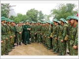 "Signal soldiers ""build a sense of respecting people, promoting democracy, taking care of people's lives following Ho Chi Minh's ideology, ethics and lifestyle"""