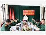 Making the district of Binh Lieu economically strong and firm in defence and security