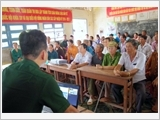 Bac Lieu Provincial Border Guard promotes legal propagation and dissemination for local people