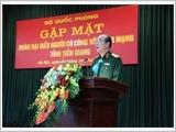 Bộ Quốc phòng gặp mặt Đoàn đại biểu Người có công tỉnh Tiền Giang
