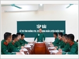 "Following Uncle Ho's instructions, the Political Officer College strives for ""good teaching and good learning"""