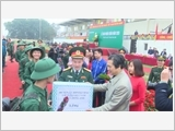 The district of Dong Anh builds strong all-people national defence