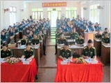 Ca Mau province well performs the work of defence and security education