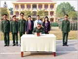 The Provincial Military Command of Dien Bien gives advice on building the all-people national defence