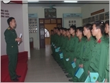 Artillery Brigade 368's experience in military standard order building and discipline management
