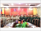 The Provincial Border Guard of Binh Phuoc enhances external affairs