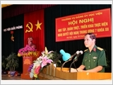 National Defence Academy builds a contingent of cadres and instructors on a par with task requirements