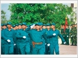 The provincial armed forces of Vinh Long promote law education and discipline management