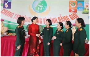 Work for the advancement of women and gender equality performed within the Military