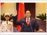 New Prime Minister takes oath of office