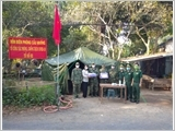 The Provincial Border Guard of Dong Thap builds a firm posture of all-people border defence