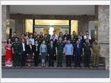 Military Region 1 enhances military diplomacy