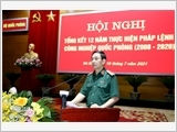 Building and developing a modern, dual-purpose defence industry of Vietnam to meet the requirements of national construction and protection