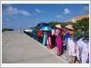 Quân và dân xã đảo Trường Sa tổ chức Lễ chào cờ hằng tháng