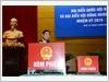 Đại tướng Ngô Xuân Lịch, Bộ trưởng Bộ Quốc phòng bỏ phiếu bầu cử tại khu vực bỏ phiếu số 12, phường Điện Biên, quận Ba Đình, Hà Nội