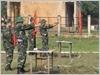 Huấn luyện bắn súng K54 cho sĩ quan