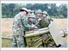 Thực hành huấn luyện kiểm tra hiệu chỉnh Pháo 85-Đ44