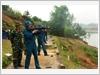 Kiểm tra bắn đạn thật cán bộ dân quân tự vệ
