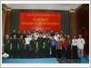 Thượng tướng Lương Cường, Chủ nhiệm Tổng cục Chính trị Quân đội nhân dân Việt Nam, gặp mặt đại biểu cựu thiếu niên dũng sĩ diệt Mỹ
