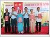 Thủ trưởng Bộ Tư lệnh Quân chủng Phòng không - Không quân dự Lễ khánh thành và tặng Nhà tình nghĩa cho các gia đình chính sách ở huyện Vĩnh Linh, tỉnh Quảng Trị